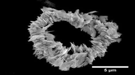 Наночастица нового вида магнита - смесь неодима, железа и бора