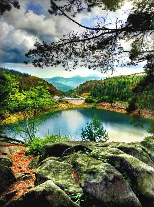 Бирюзовые озёра
