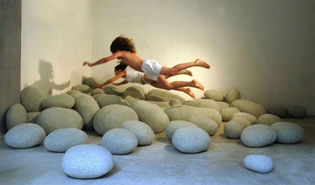 камни из войлока