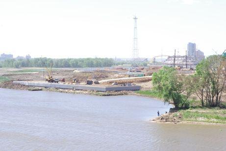 Строительство стадиона на намытом грунте