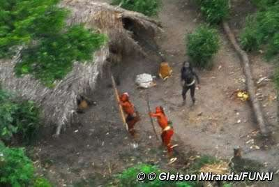 Неконтактные индейцы в Бразилии. 2008 год