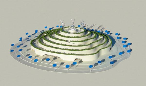 Будущее сельского хозяйства в павильоне Майкла Янцена