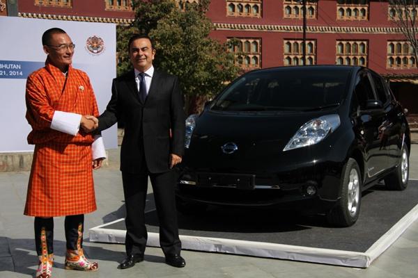 Бутан пересаживается в электромобили