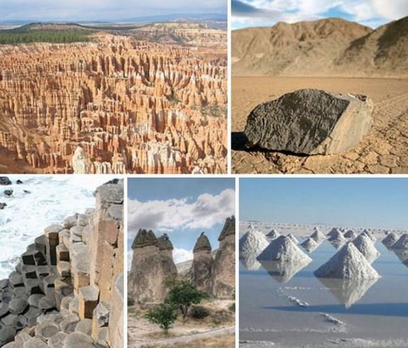 Экстремальный экотуризм: 7 скалистых и соляных чудес света