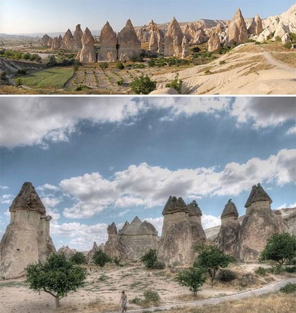Долина ведьминых труб, Турция