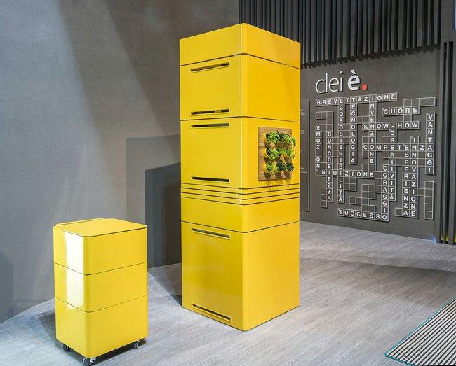 Clie - кухня в сложенном виде занимает не более 1 м2