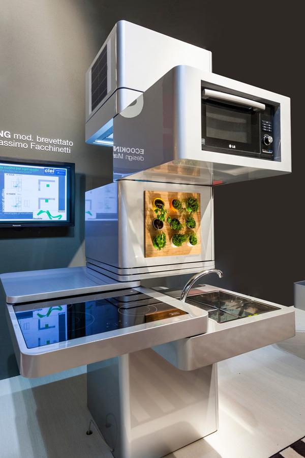 Ecooking - концепт вертикальной кухни
