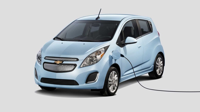 Новый GM Chevy Spark EV