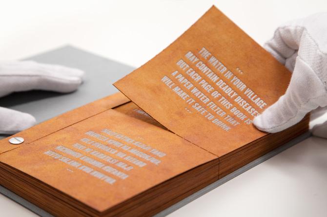 Каждая книга содержит 20 страниц, каждая страница пригодна к использованию в качестве водяного фильтра 30 дней.