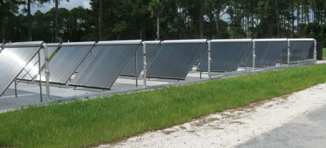 Новое чёрное покрытие продлит жизнь тепловых солнечных панелей