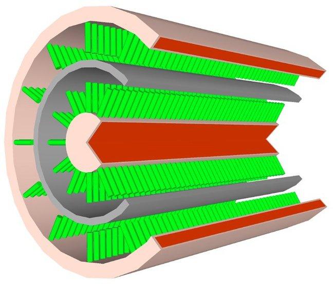 Проводник с суперконденсатором