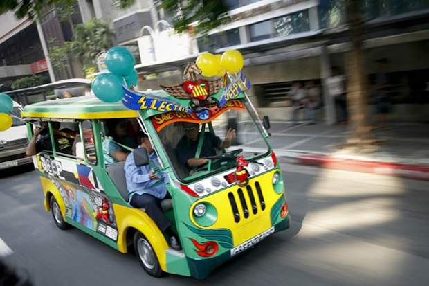 Транспортная революция Манилы