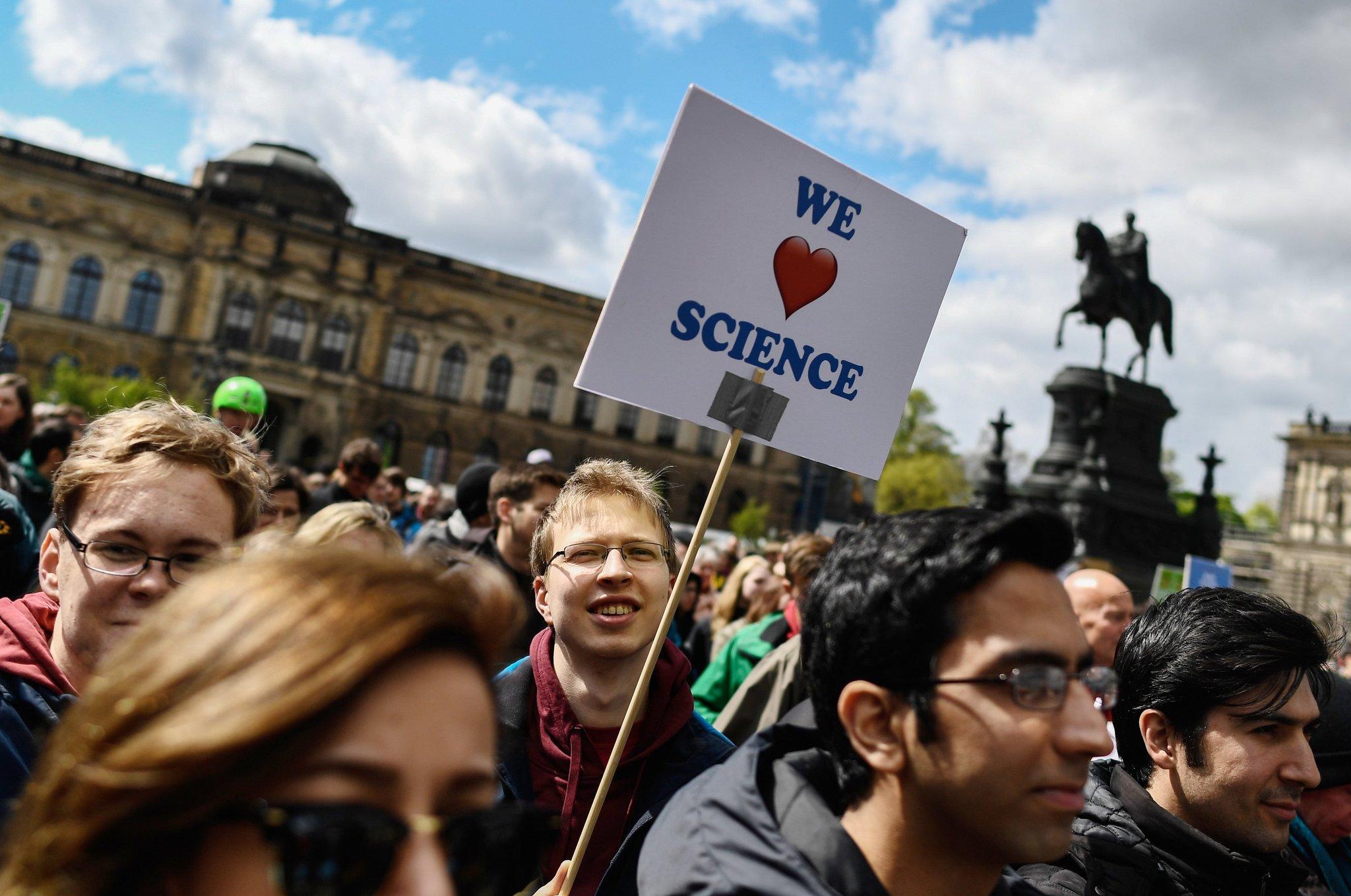 День Земли 2017 – Марш во имя Науки
