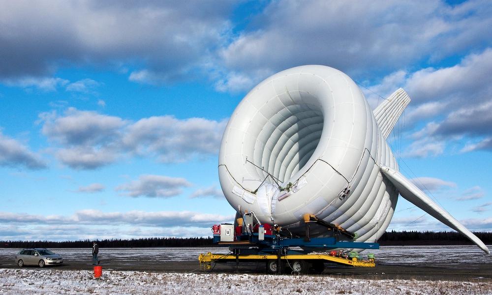 Парящая ветряная турбина генерирует энергию на Аляске и бьет мировой рекорд