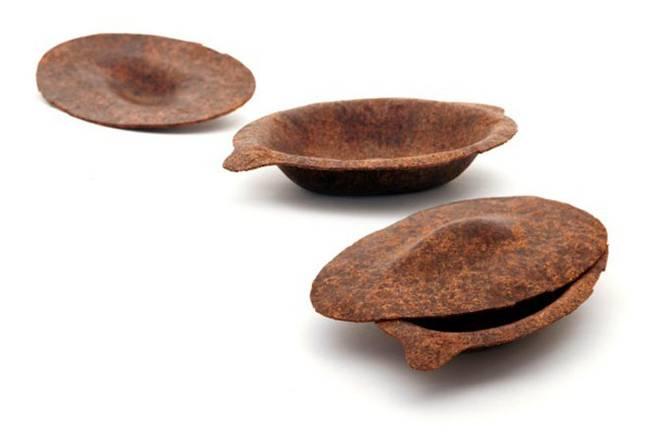 Биоразлагаемые одноразовые тарелки изготовлены из пищевых отходов