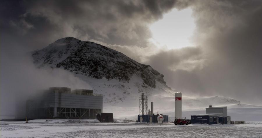 Ученые собирают СО2 и превращают его в твердую породу