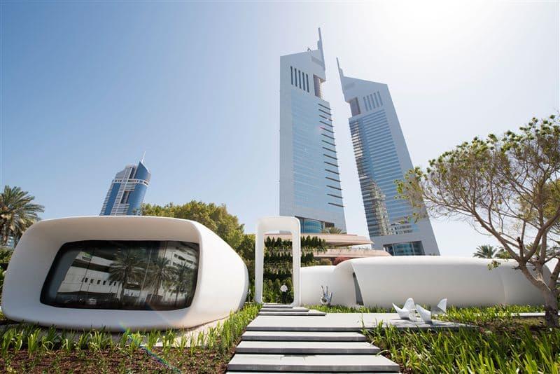 Дубай представляет первое в мире здание, полностью напечатанное при помощи 3D-принтера. Facepla.net последние новости экологии