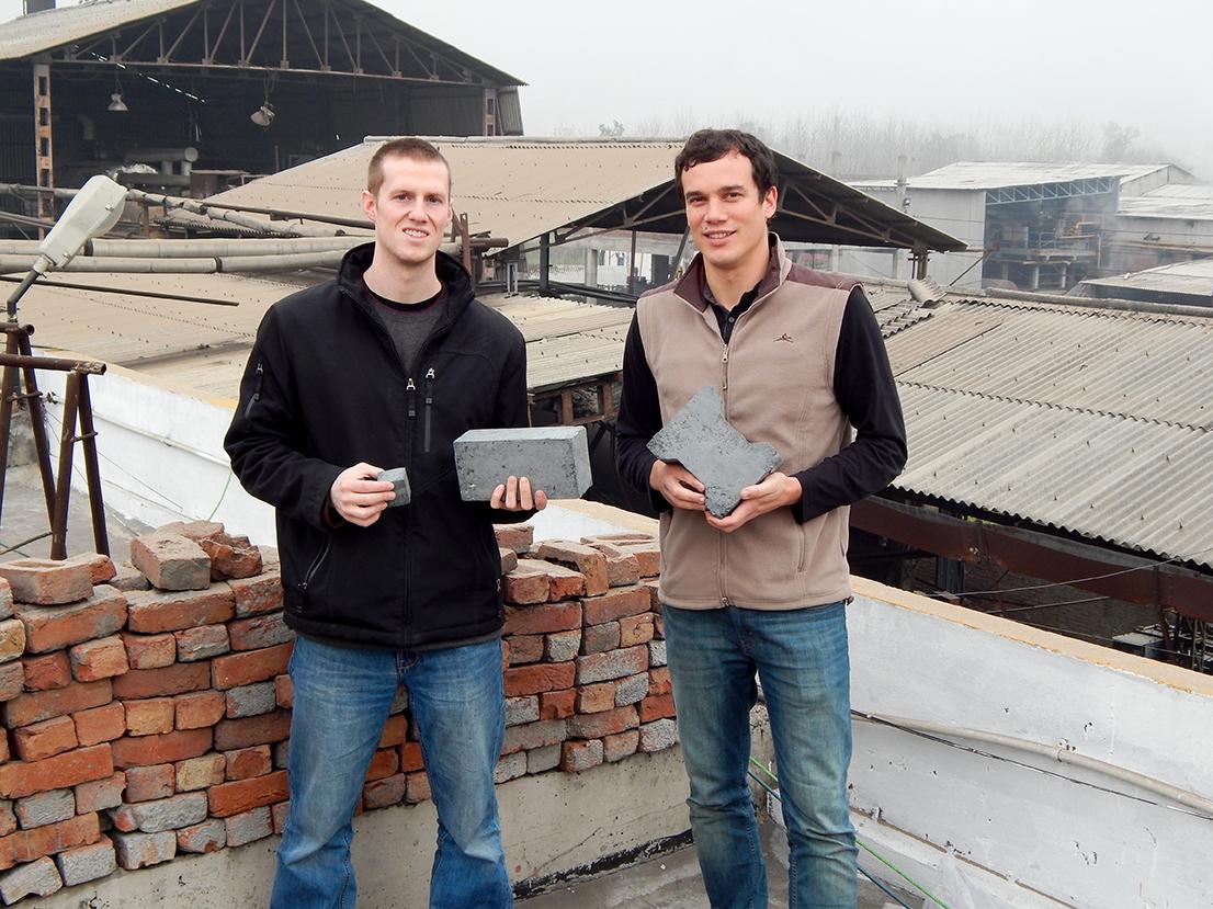Студенты MIT создали эко-кирпич, который не нуждается в обжиге