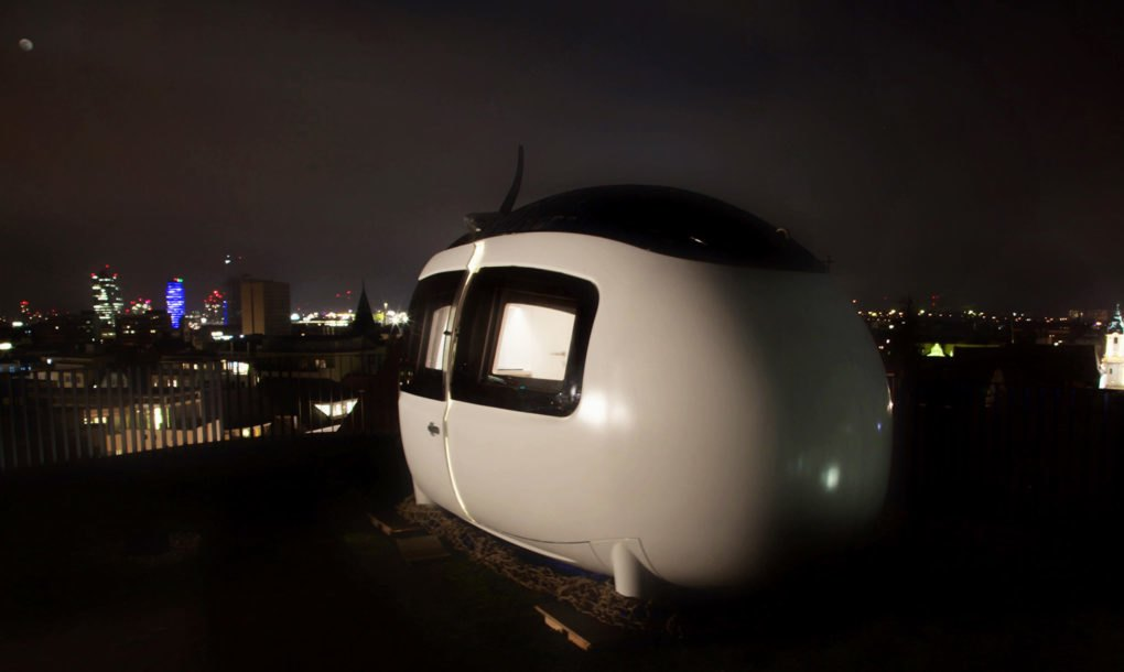 Микро-дом Ecocapsule выходит на рынок