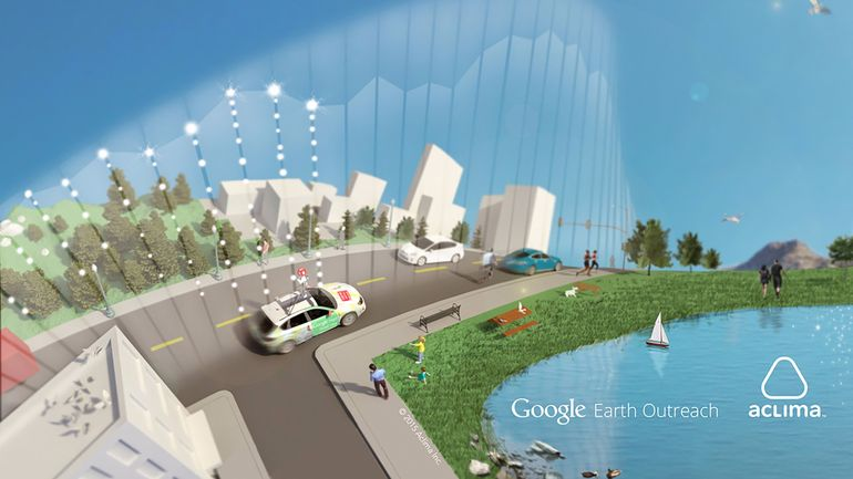 Google определяет качество воздуха через Street View. Facepla.net последние новости экологии