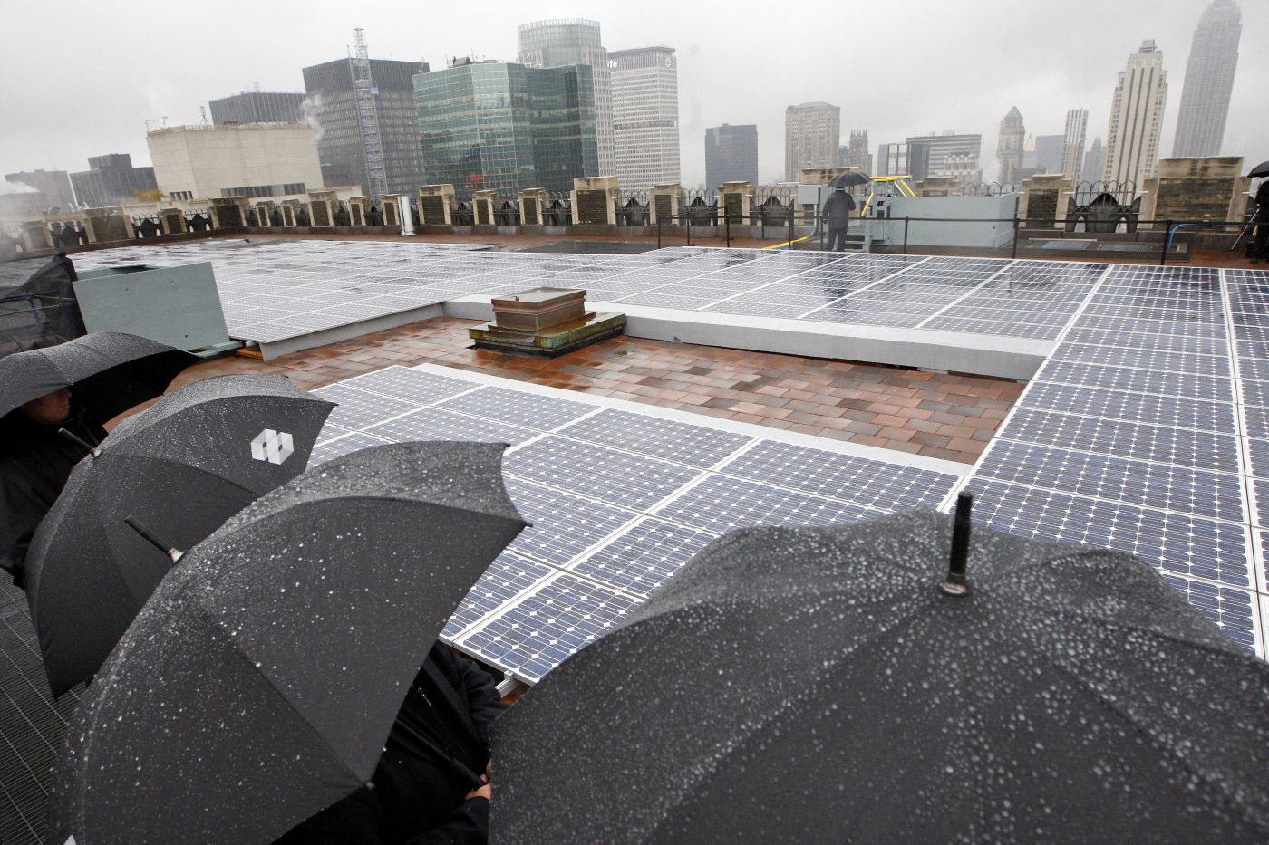 Солнечные панели с графеном производят энергию в дождливую погоду. Facepla.net последние новости экологии