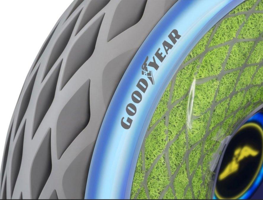 Шины Goodyear очищают воздух во время поездки