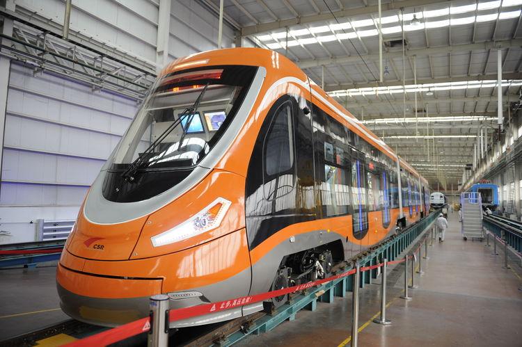 Трамвай на водородном двигателе