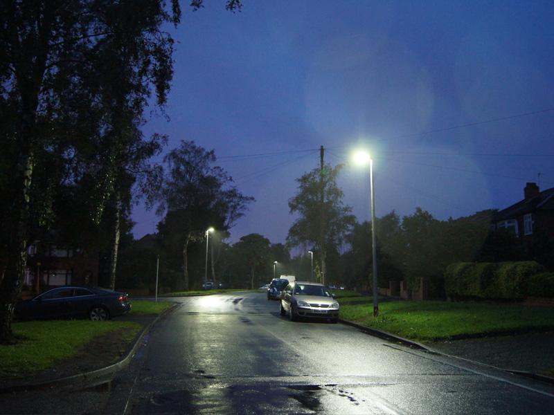Светодиодное освещение улиц