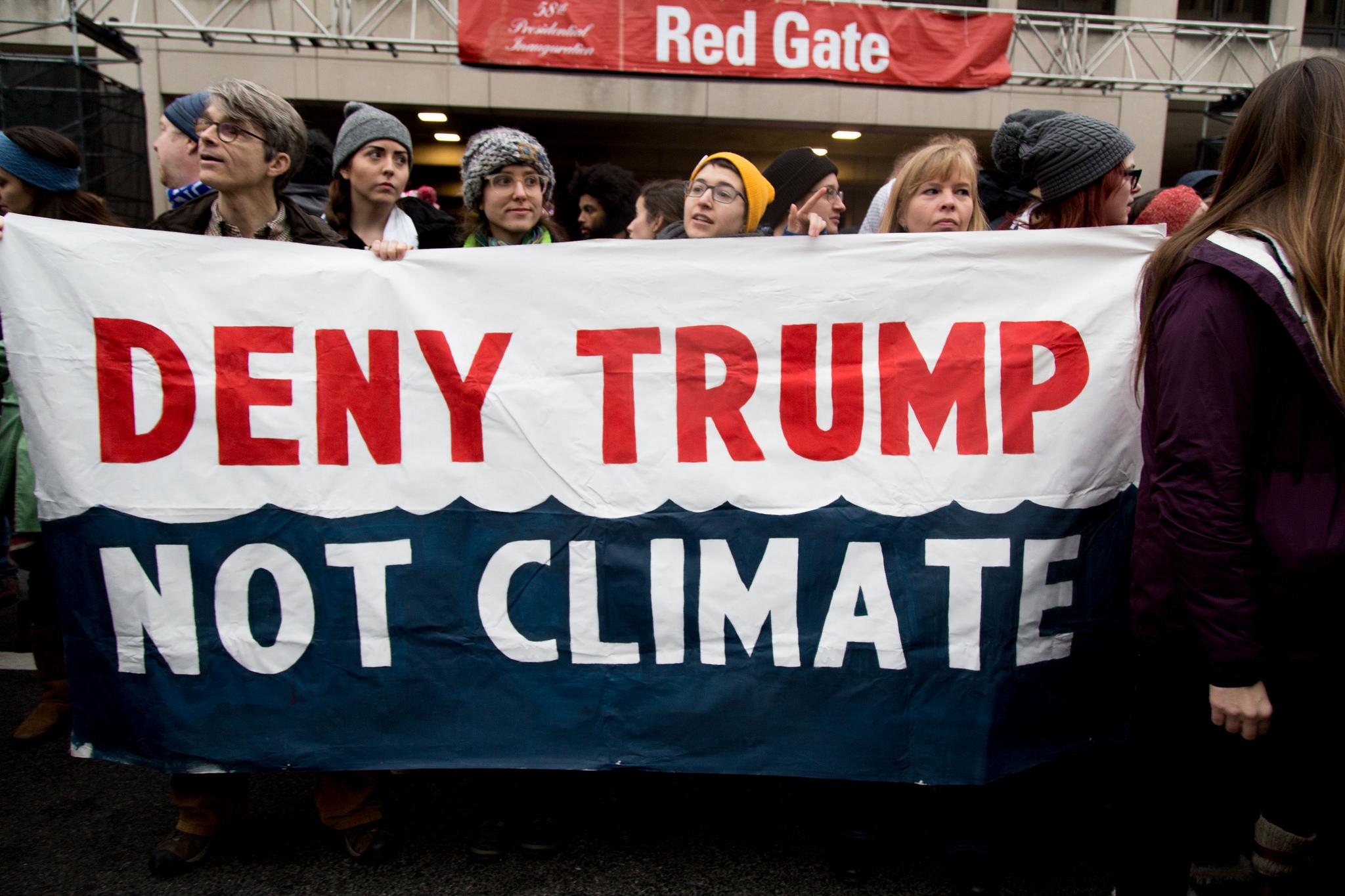 Трамп выйдет из Парижского соглашения?