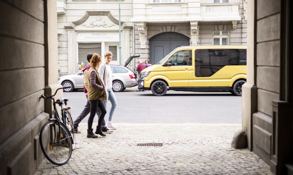 Электрический микроавтобус от Volkswagen