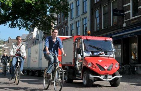 Cargohopper Электрический грузовик для города