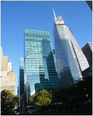 Нью-Йоркская Башня Банка Америки (Нью-Йорк, США)