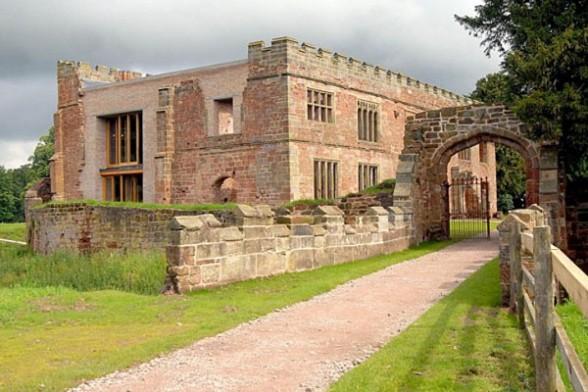 Современный отель в английском замке 12 века