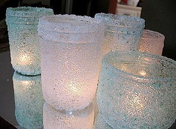 Светильник из морской соли своими руками