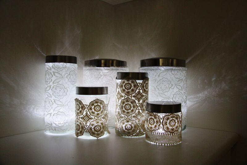 Идеи для светильника своими руками