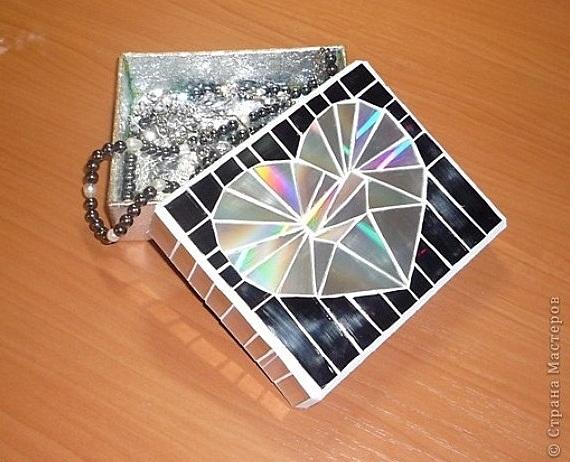 Делаем мозаику из старых компакт-дисков.  Iz_compact_diskov_3.