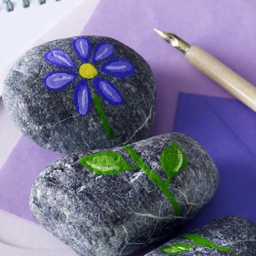 Камни как решение в интерьере
