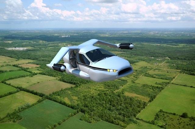 Гибридный летающий автомобиль TF-X