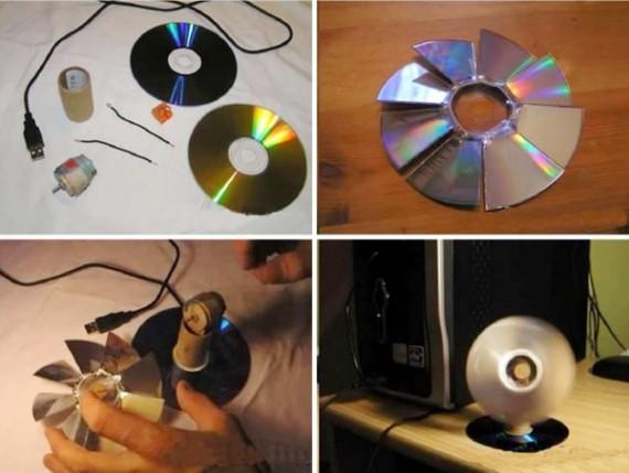 Интересные поделки из старых дисков своими руками 95
