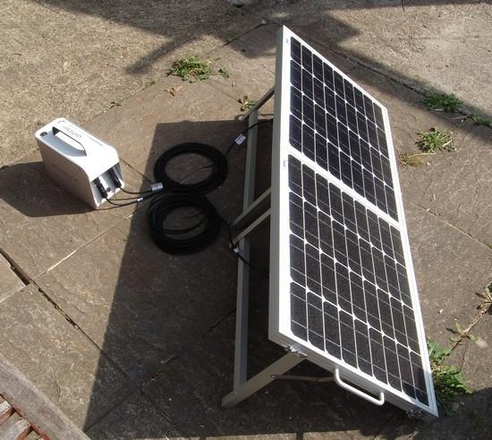 Solar Pod готов к работе