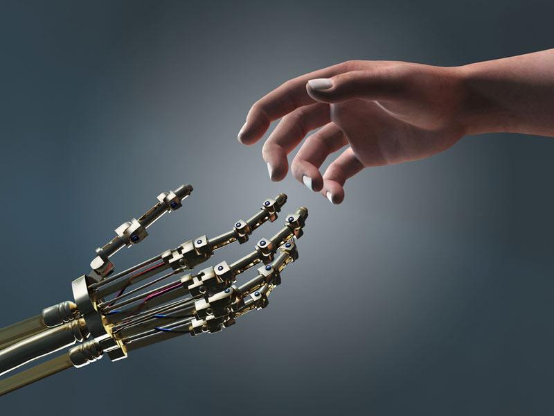 робот фото человек