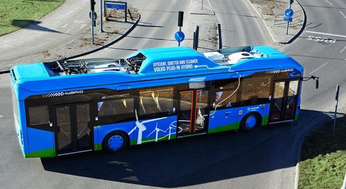 Гибридные автобусы Volvo берегут природу иэкономят энергию