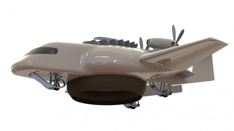 ESTOLAS – гелиевый самолет навоздушной подушке