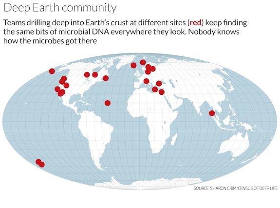 В рамках программы Census of Deep Life (Перепись глубинной жизни) Шренк в составе международной команды ученых исследует глубины от 100 до 2000 метров ниже поверхности.