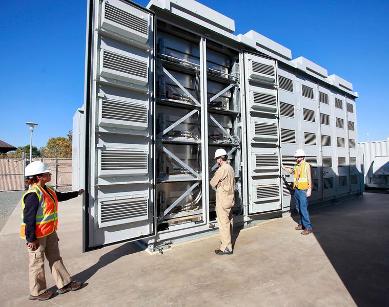 Калифорния стимулирует развитие технологий хранения энергии