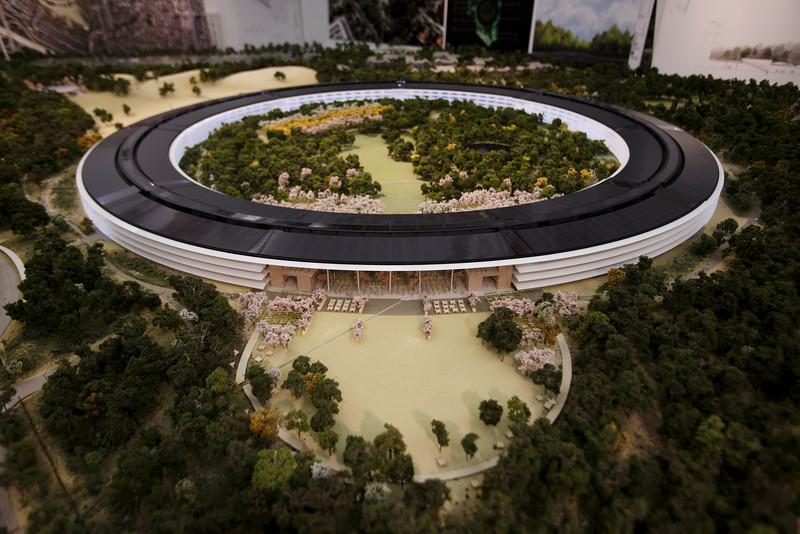 Новая штаб-квартира Apple: фото поближе. Facepla.net самые свежие новости экологии