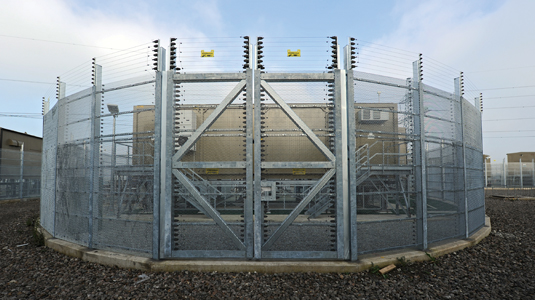 Установка турбин на London Array