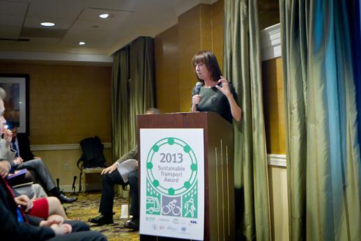 Мехико получил премию устойчивого развития транспорта 2013 года