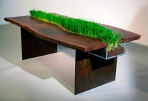 green-table