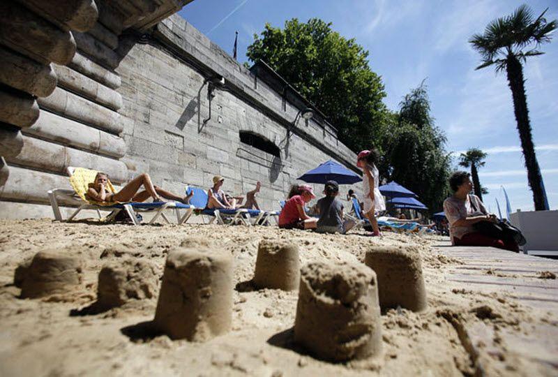 Пляжи Парижа и экологически чистый отпуск дома